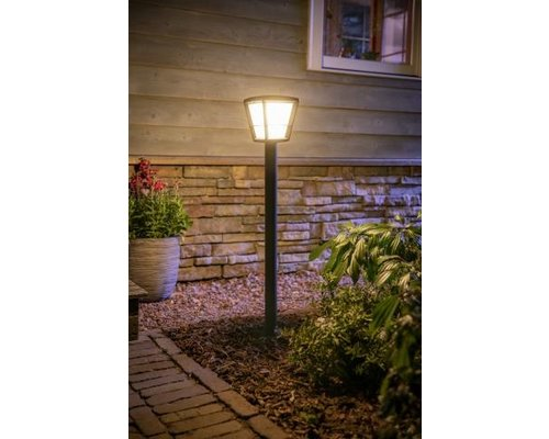 Philips Hue Hue Econic White Color Ambiance tuinpaal groot LED 15W 1150lm zwart
