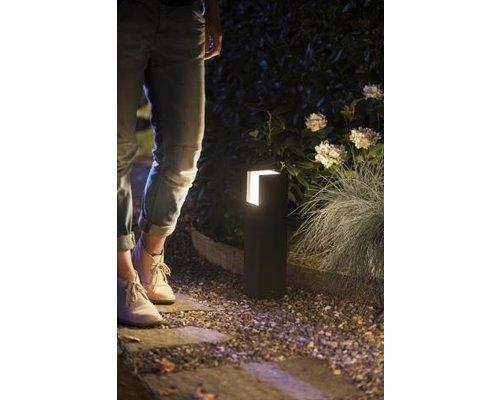 Philips Hue Hue Fuzo Poteau de jardin blanc 15W 1150lm noir