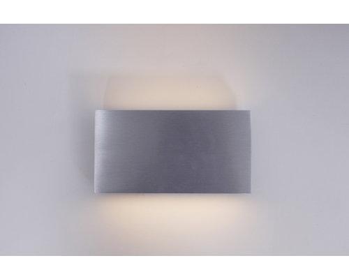 Light Gallery Box wandlamp LED 2x4W/480lm aluminium