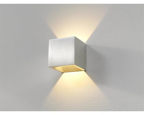 Light Gallery Cube wandlamp LED 1x6W/696lm alu