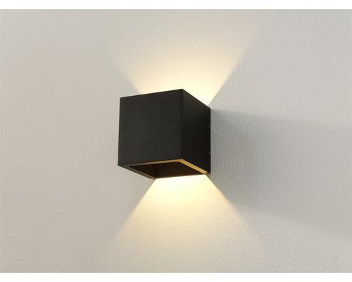 Light Gallery Cube wandlamp LED 1x6W/696lm zwart