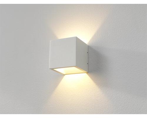 Light Gallery Cube wandlamp LED 1x6W/696lm wit