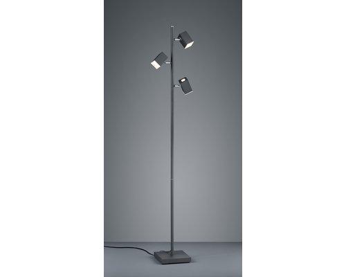 Light Gallery Lagos vloerlamp 3L zwart