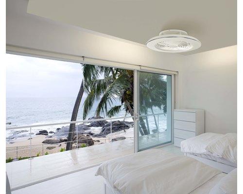 Light Gallery Alisio ventilator  LED wit 70W