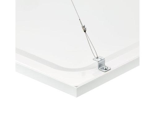 Philips Coreline Panel LED 33W 3400lm 3000K vierkant 60cm 90° wit