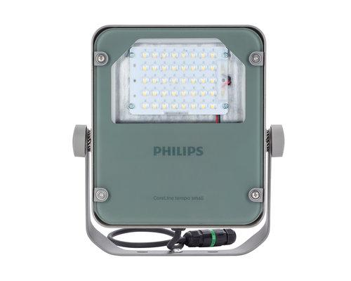 Philips Coreline Tempo klein straler LED 38W 4200lm 4000K asym grijs