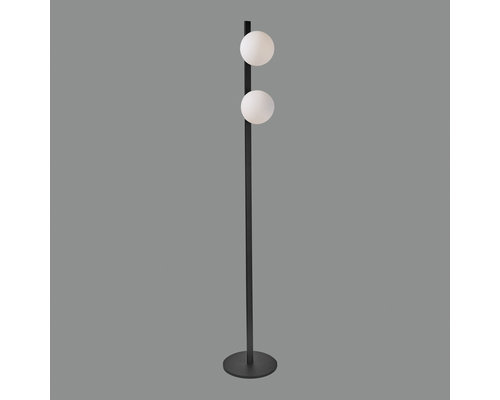 Light Gallery Kin vloerlamp 2x5W 740lm zwart