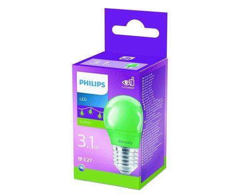 LED lamp gekleurd E27 3.1W groen