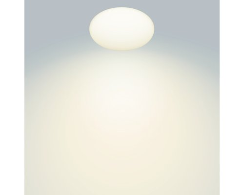 Philips Shan wand/plafondlamp LED 1x12W/1000lm 2700K wit