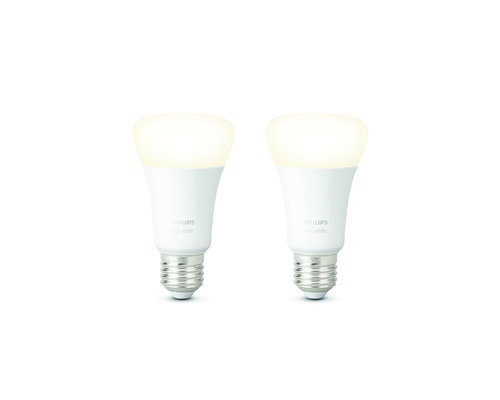 Philips HUE Lampe blanche 2xE27 9W 806lm 2700K