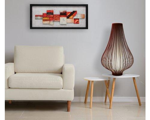 Light Gallery Onion vloerlamp velvet burdeos