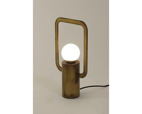 Light Gallery Cartesio tafellamp 1xE27 antiek brons
