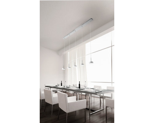 Light Gallery Dunk hanglamp 5x32W aluminium