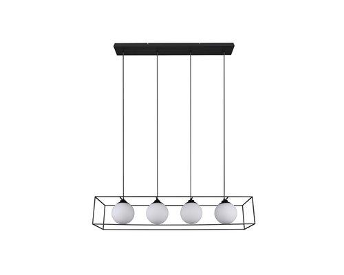 Light Gallery Bagia hanglamp 4xE14 zwart
