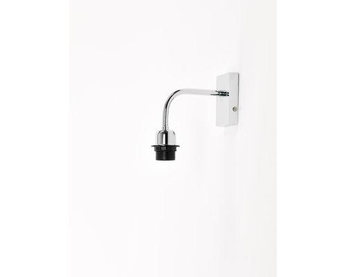 Light Gallery Mesa wandlamp voor kap 1xE27 nikkel