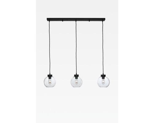Light Gallery Bagel2 hanglamp lijn 3xE27 ruggine