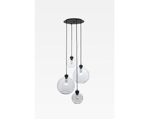 Light Gallery Bagel2 hanglamp rond 4xE27 ruggine