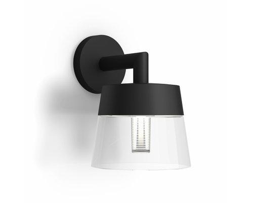 Philips Applique Attract LED 1x8W / 600lm IP44 noir