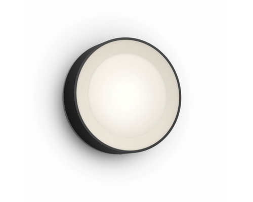 Philips Hue Daylo wandlamp LED 1x15W/1050lm IP44 zwart