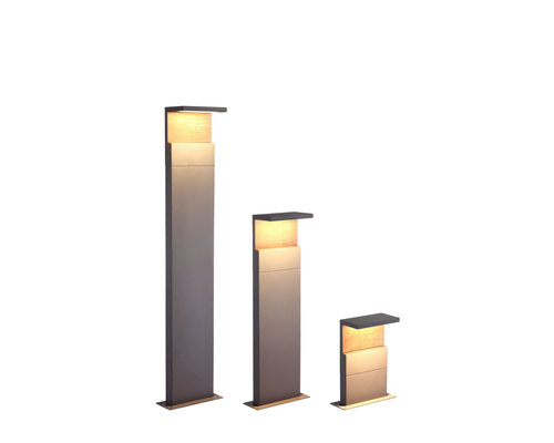 Light Gallery Ruka tuinpaal 100cm IP54 antraciet hout