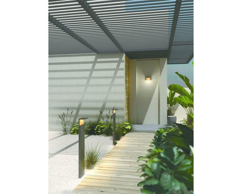 Light Gallery Poteau de jardin Ruka 100cm IP54 bois anthracite