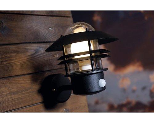Light Gallery Applique Blokhus Sensor 1xE27 noir