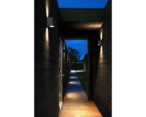 Light Gallery Canto 2 wandlamp 2x6W 580lm zwart