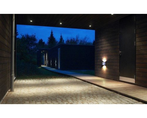 Light Gallery Applique Canto 2 2x6W 580lm acier galvanisé