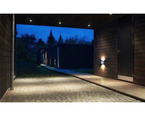Light Gallery Canto 2 wandlamp 2x6W 580lm gegalvaniseerd staal