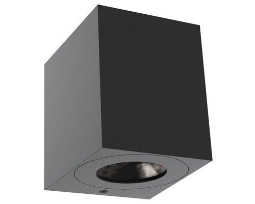 Light Gallery Canto 2 kubi wandlamp 2x6W 580lm zwart