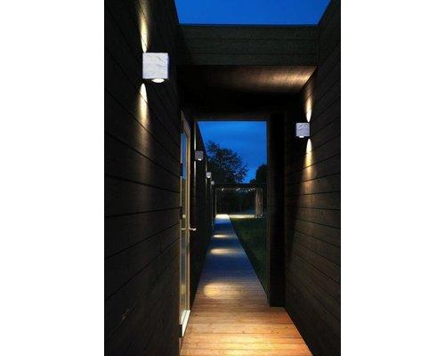 Light Gallery Canto 2 kubi wandlamp 2x6W 580lm gegalvaniseerd staal