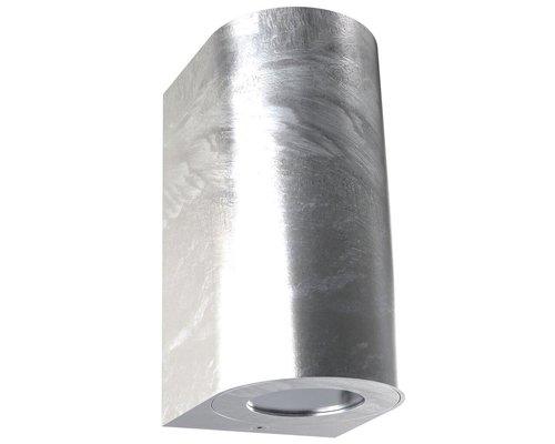 Light Gallery Applique Canto 2 maxi 2xGU10 acier galvanisé