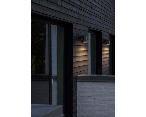 Light Gallery Front single wandlamp 1xGU10 zwart