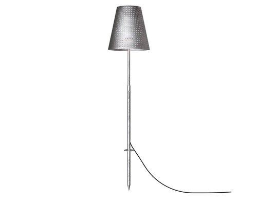 Light Gallery Fuse vloerlamp met spike 1xE27 staal