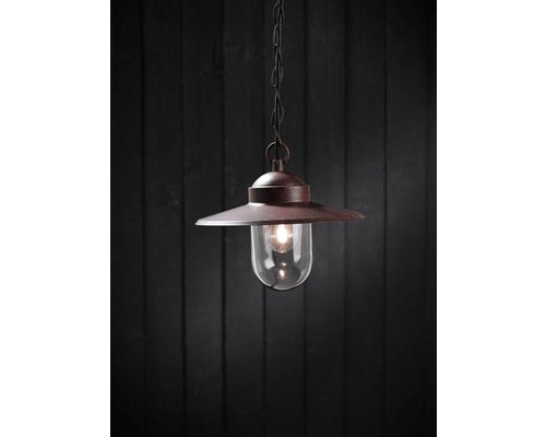 Light Gallery LUXEMBOURG suspension 1xE27 rouille