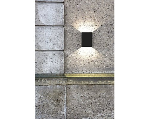 Light Gallery Applique Fold 2x5W 270lm noir