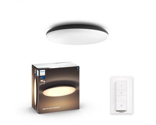 Philips Hue HUE Cher BT White Ambiance plafondlamp LED 1x33.5W zwart