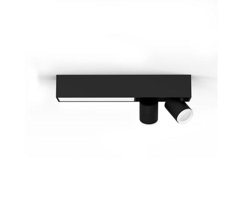 Philips Hue Centris opbouwspot 2x5.7W zwart