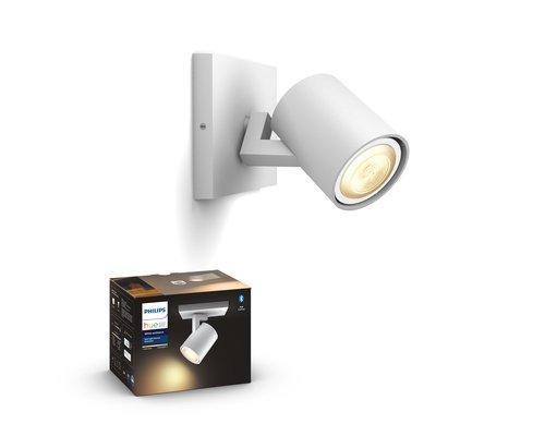 Philips Hue HUE Runner BT opbouwspot LED GU10 1x5W wit ext.