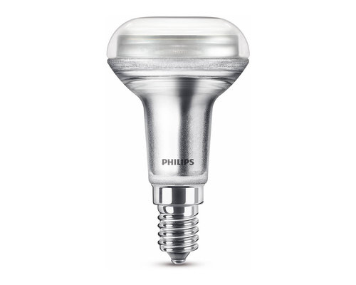 Philips LED classic E14 60W 390lm 2700K reflector transparant