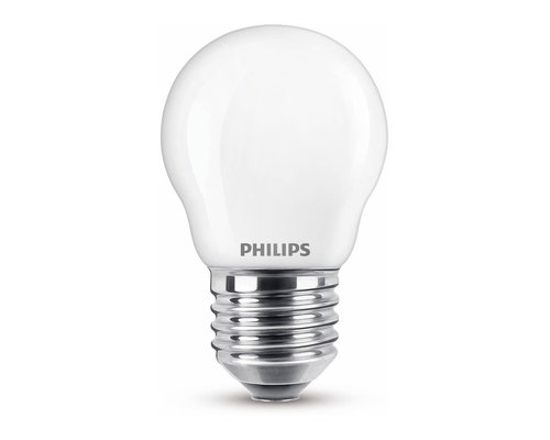 Philips LED classic E27 40W 470lm 2700K kogel frosted