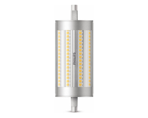 Philips LED R7S 150W 2460lm 3000K staaf transparant