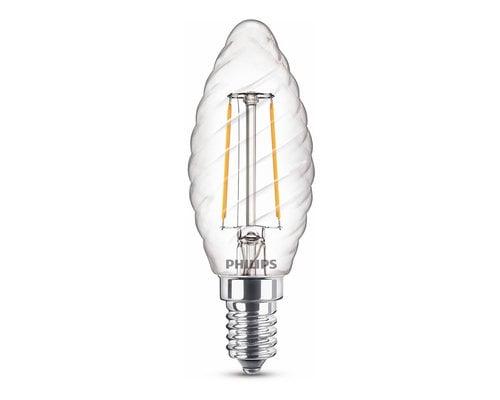Light Gallery LED classic E14 25W 250lm 2700K kaars transparant