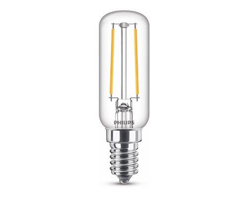 Philips LED classic E14 25W 250lm 2700K ovaal transparant