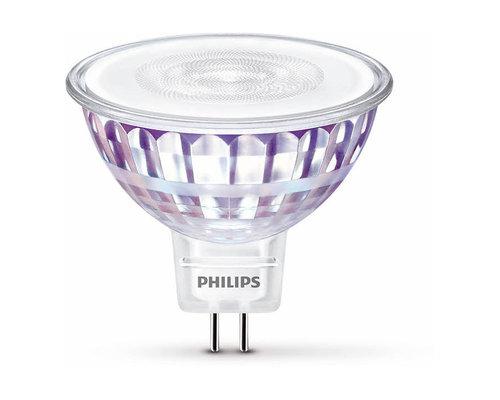 Philips LED GU5.3 50W 2700K lamp transparant
