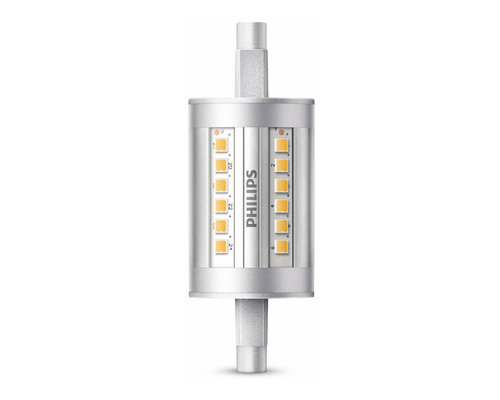 Philips LED R7S 60W 950lm 3000K staaf transparant