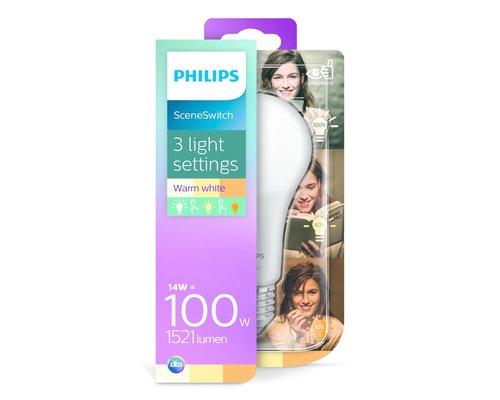 Philips LED Scene Switch E27 100W D