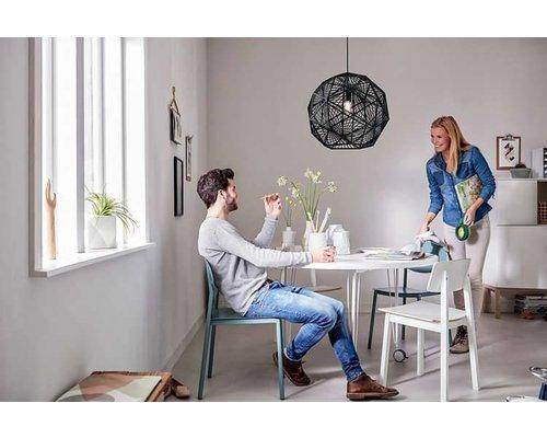 Philips Smart Volume Mohair hanglamp E27/60W zwart
