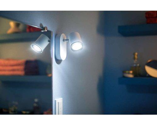 Philips Hue HUE White Ambiance Adore wandspot IP44 LED 1xGU10 5,5W/250lm wit