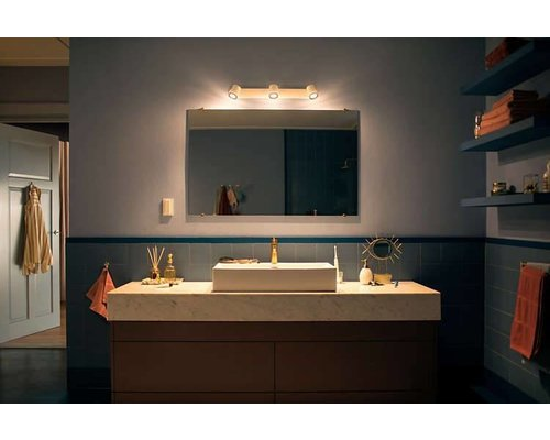 Philips Hue HUE White Ambiance Adore opbouwspot IP44 LED 3xGU10 5,5W/250lm wit